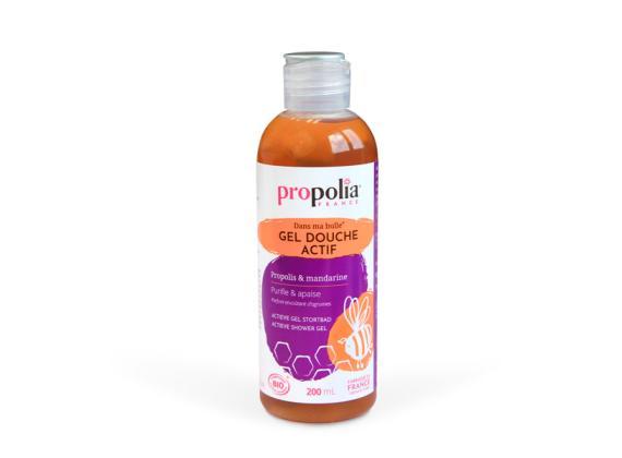 Actieve douchegel met propolis en mandarijn 200ml, BIO - Propolia