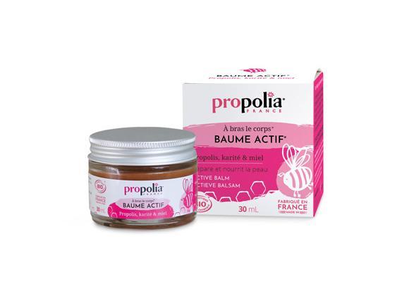 Actieve balsem met propolis en honing, BIO 30ml - Propolia